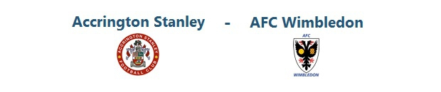 Accrington Stanley – AFC Wimbledon | 13.09.2014 | 16:00