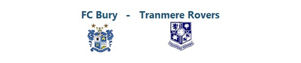 FC Bury – Tranmere Rovers | 04.10.2014 | 16:00