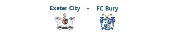 Exeter City – FC Bury | 27.09.2014 | 16:00