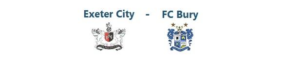 Exeter City – FC Bury   27.09.2014   16:00