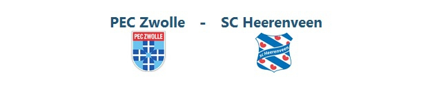 PEC Zwolle – SC Heerenveen | 26.10.2014 | 14:30