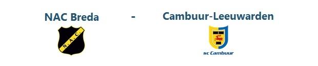 NAC Breda – Cambuur Leeuwarden | 21.12.2013 | 19:45