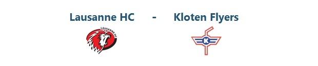 Lausanne – Kloten Flyers | 13.09.2014 | 19:45
