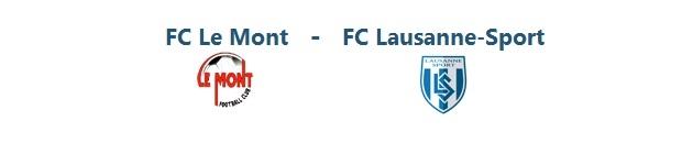 FC Le Mont – FC Lausanne-Sport | 26.10.2014 | 15:00