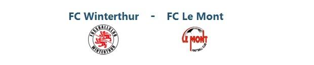 FC Winterthur – FC Le Mont Ls  | 14.09.2014 | 15:00