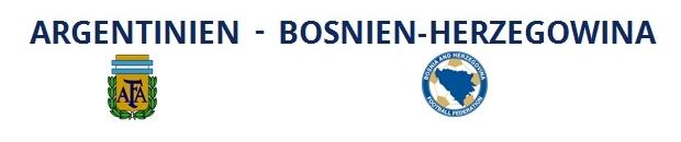 Argentinien – Bosnien-Herzegowina | 16.06.2014 | 00:00