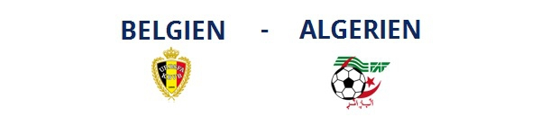 Belgien – Algerien | 17.06.2014 | 18:00