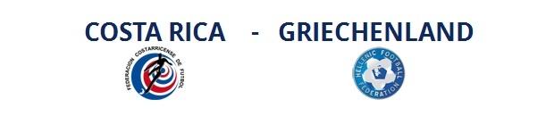 Costa Rica – Griechenland | 29.06.2014 | 22:00